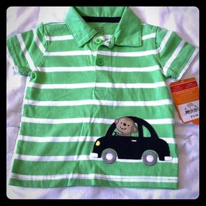 Cute NWT Carter's 6 Month Shirt
